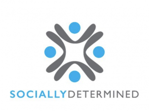 socially determined logo