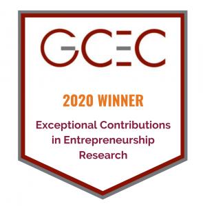 GCEC 2020 Award Banner